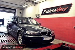 Chip tuning BMW 3 E46 318d 116 KM