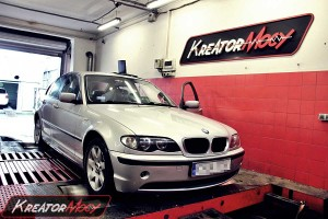 Chip tuning BMW E46 320d 150 KM
