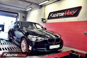 Chip tuning BMW F20 114i 1.6T 102 KM