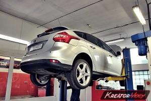 Usuwanie DPF Ford Focus MK3 1.6 TDCI 115 KM