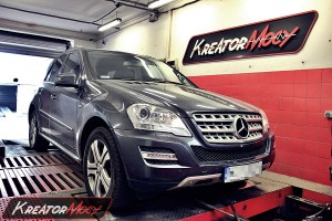 Chip tuning Mercedes W164 ML 3.0 CDI 204 KM