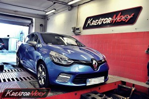 Chip tuning Renault Clio IV GT 1.2 TCE 120 KM