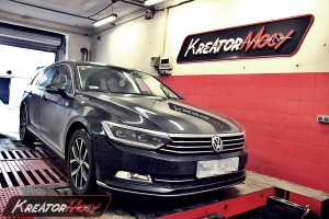 Chip tuning VW Passat B8 2.0 TDI CR 150 KM DSG