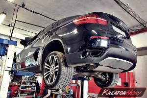 Usuwanie DPF BMW E71 X6 M50d 381 KM