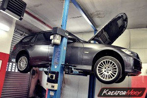 Usuwanie DPF BMW E91 318d 2.0d 136 KM