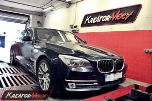 Hamownia BMW 7 F01 3.0d 258 KM