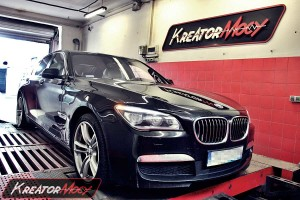 Chip tuning BMW F01 730d 258 KM