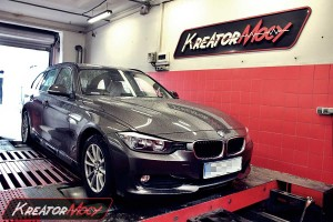 Chip tuning BMW F31 316d 2.0d 116 KM