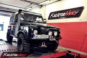 Chip tuning Land Rover Defender 2.2 TD4 122 KM