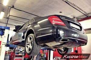 Usuwanie DPF Mercedes W221 S 350 CDI 258 KM
