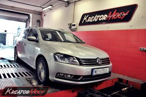 Chip tuning VW Passat B7 2.0 TDI CR 170 KM DSG