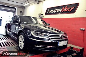 Chip tuning VW Phaeton 3.0 TDI 240 KM