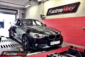 Chip tuning BMW F20 118d 143 KM