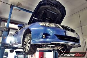 Zapchany DPF Subaru Impreza 2.0D 150 KM