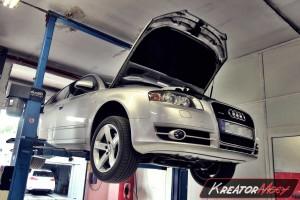 Usuwanie DPF Audi A4 B7 3.0 TDI CR 240 KM