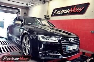 Chip tuning Audi A8 D4 4.0 TFSI 435 KM (CEUA)