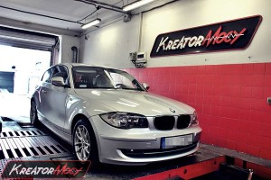 Chiptuning BMW E81 116d 2.0d 115 KM