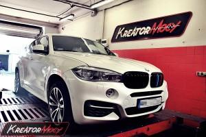Chip tuning BMW X6 F16 3.0 N55 306 KM