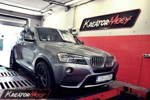 Chip tuning BMW F25 X3 xDrive30d 258 KM