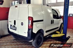 Usuwanie DPF Fiat Fiorino 1.3 MultiJet 95 KM