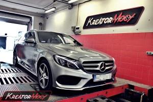 Chiptuning Mercedes W205 C 200 2.0T 184 KM