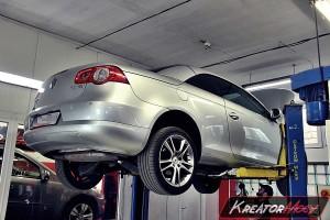 Problem DPF VW EOS 2.0 TDI PD 140 KM