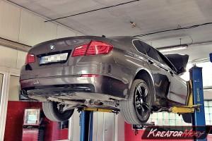 Usuwanie DPF BMW F10 525d 2.0d 218 KM