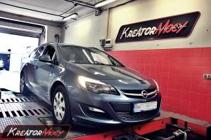 Chip tuning Opel Astra J 1.7 CDTI 130 KM
