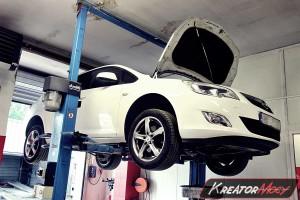 Usuwanie DPF Opel Astra J 2.0 CDTI 160 KM