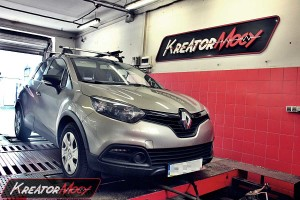 Chip tuning Renault Captur 0.9 TCE 90 KM