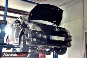 Usuwanie DPF Toyota Verso 2.2 D-CAT 177 KM