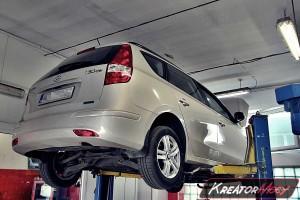 Zappchany DPF Hyundai i30 1.6 CRDI 116 KM