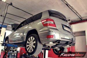 Usuwanie DPF Mercedes X204 GLK 250 CDI 204 KM