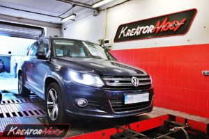 Chip tuning VW Tiguan 2.0 TDI CR 150 KM (DSG7)