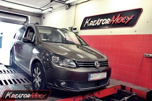 Chip tuning VW Touran II 1.6 TDI CR 105 KM (DSG)