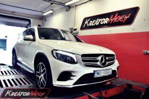 Modyfikacja mocy Mercedes X253 GLC 250 2.0T 211 KM