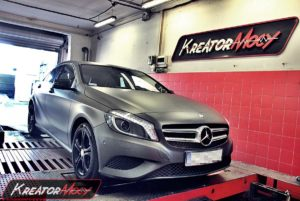 Chip tuning Mercedes W176 A 180 1.6T 122 KM