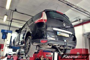 Problem zapchany DPF Renault Scenic III 1.5 DCI 106 KM