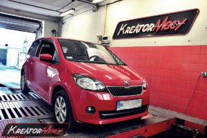 Chip tuning Skoda Citigo 1.0 MPI 60 KM