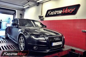 Podniesienie mocy w Audi A4 B8 3.0 TDI CR 240 KM (CCWA)
