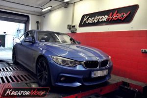 Chip tuning BMW F32 420i N20 184 KM