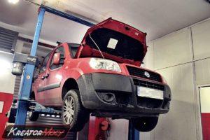Zapchany DPF w Fiat Doblo 1.3 JTD 75 KM