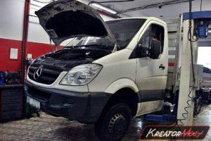 Zapchany DPF Mercedes Sprinter 2.2 CDI 150 KM