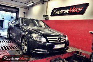 Podniesienie mocy w Mercedes W204 C180 2.2 CDI 120 KM
