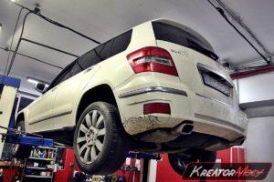 Problem DPF Mercedes X204 GLK 220 CDI 2.2 170 KM