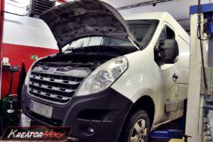 Problem DPF Renault Master 2.3 DCI 125 KM
