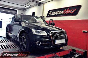Strojenie Audi Q5 2.0 TDI 190 KM (CNHA)