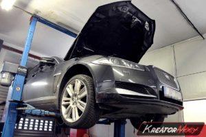 Problem DPF Jaguar XF 3.0D 211 KM