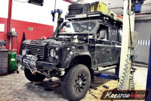 Problem DPF Land Rover Defender 2.2 TD4 122 KM