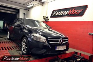 Remap Mercedes W176 A180 1.6 Turbo 122 KM